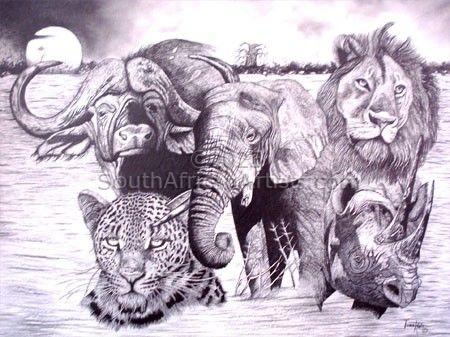 Big Five of Africa II
