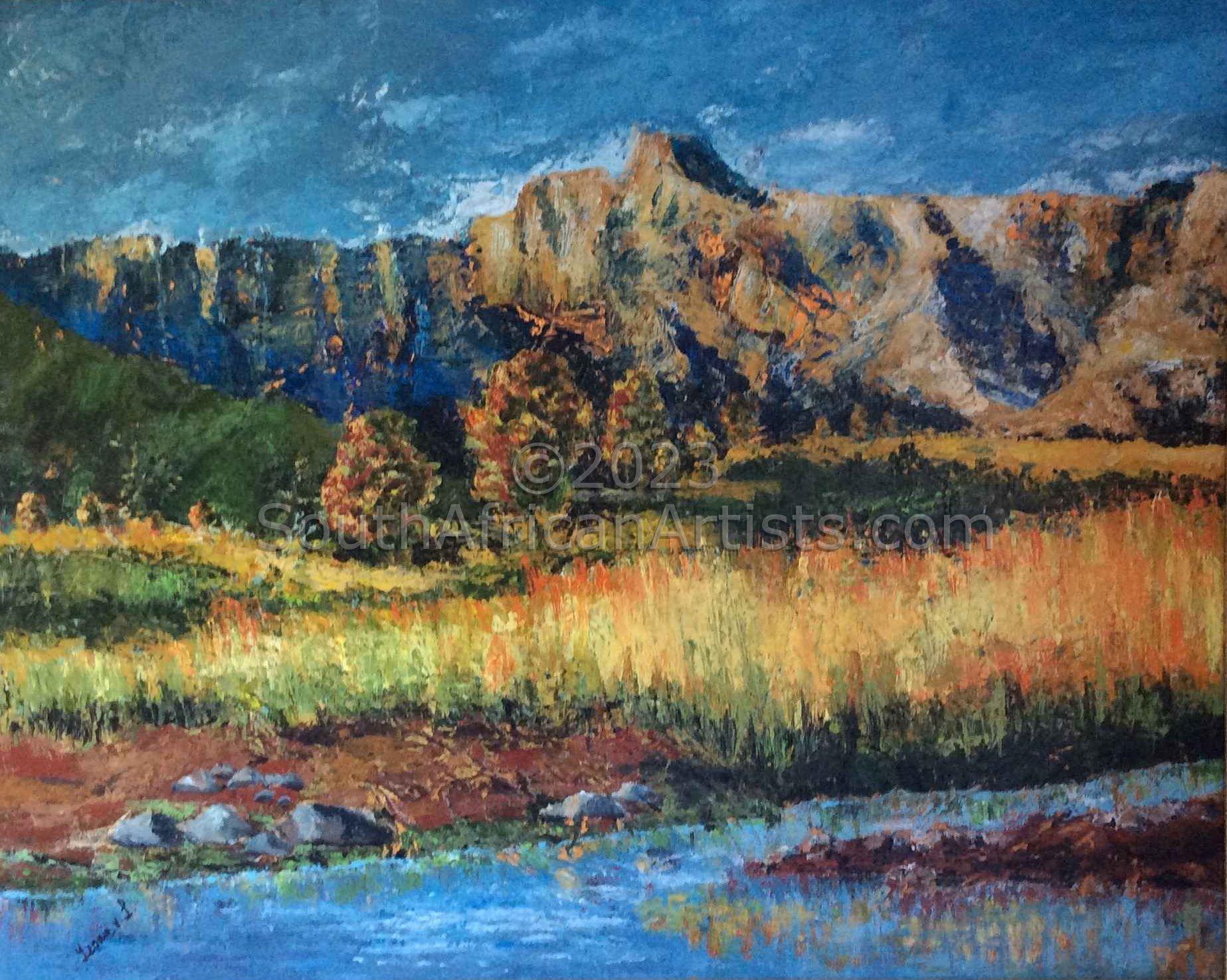 Drakensberg Landscape