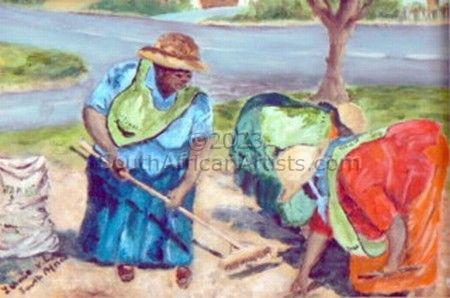 Hermanus street cleaners