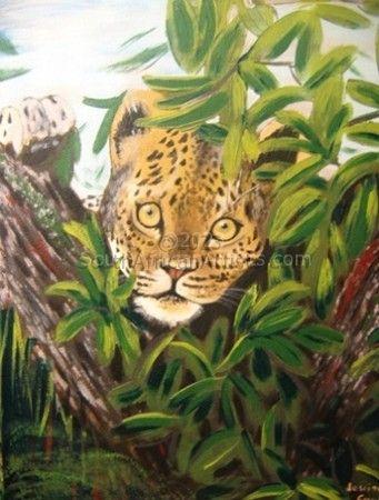 Staring Leopard