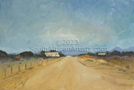 The road leaving Otavi