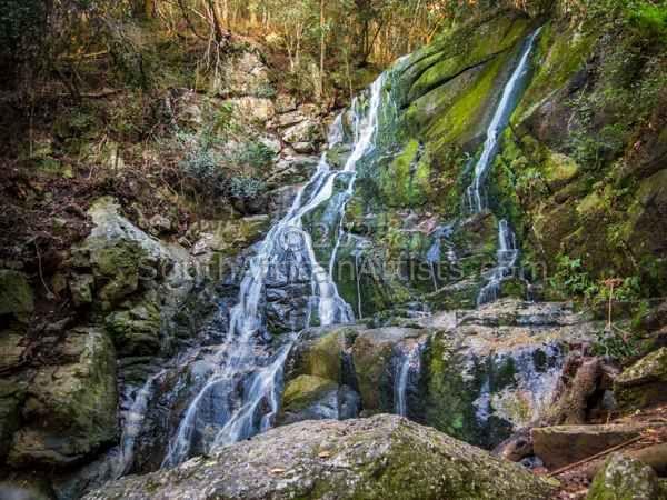 Waterfall at Slelton Gorge