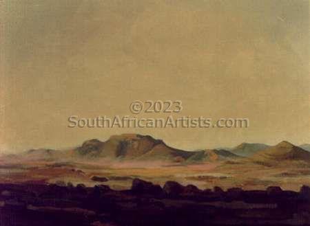 Dusk in Karoo