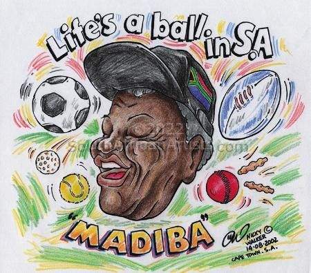 Mandela Life's a Ball in S.A.