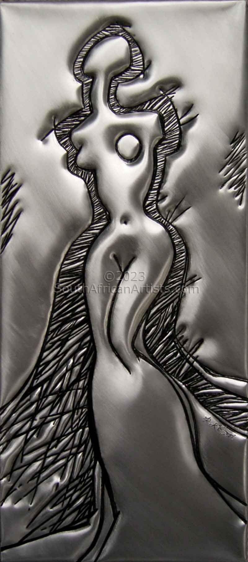 Female Figure 2 in Metal 1/1