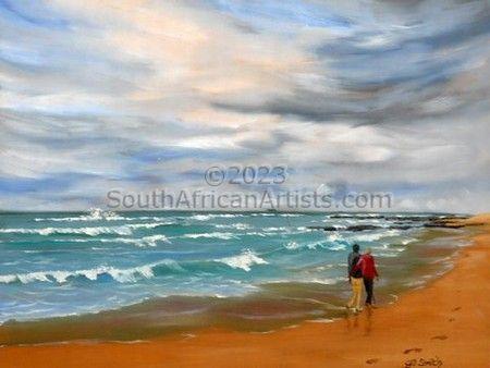 A walk on the beach-Cosy Corner, SA