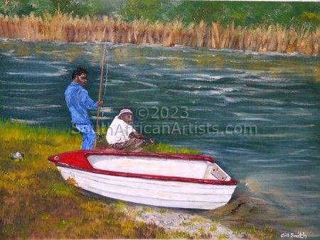 Fishermen, Cosy Corner-SA
