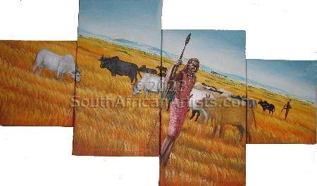Maasai Herdsman Puzzle