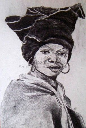 Xhosa woman portrait