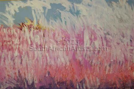 Landscape in Pink