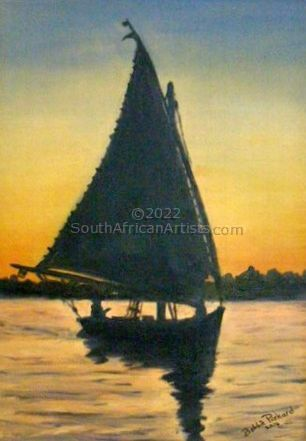 Egyptian Dhow on the Nile