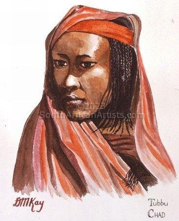 Eve: Tubbu Tribe, Chad
