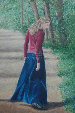 Lady Taking a Walk