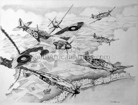 Bader's Spitfire