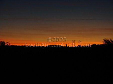 Free State Sunset