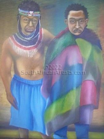 Two Ndebele Men