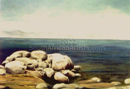White Rocks on False Bay