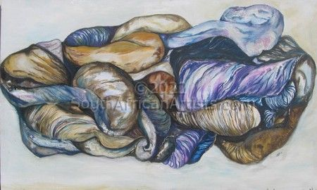 Transformation of Shells in Blue