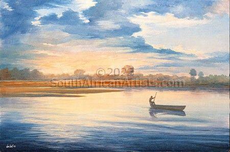 Dawn Crossing - Maun