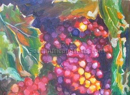 Sunlight in Grapes