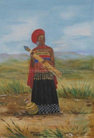 Xhosa African Bride