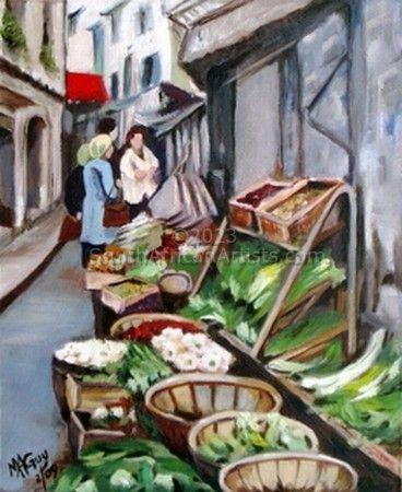 Market in Village Street