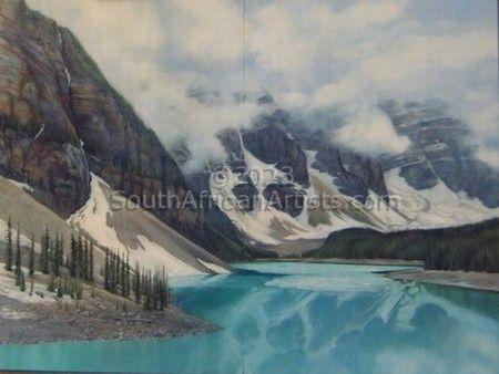 Frozen Splendour - Moraine Lake