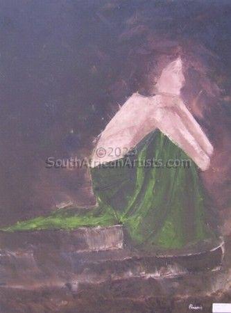 Girl in Green Dress