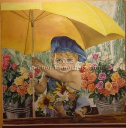 Flower Seller's Child