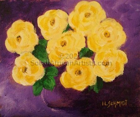 Yellow Roses 3