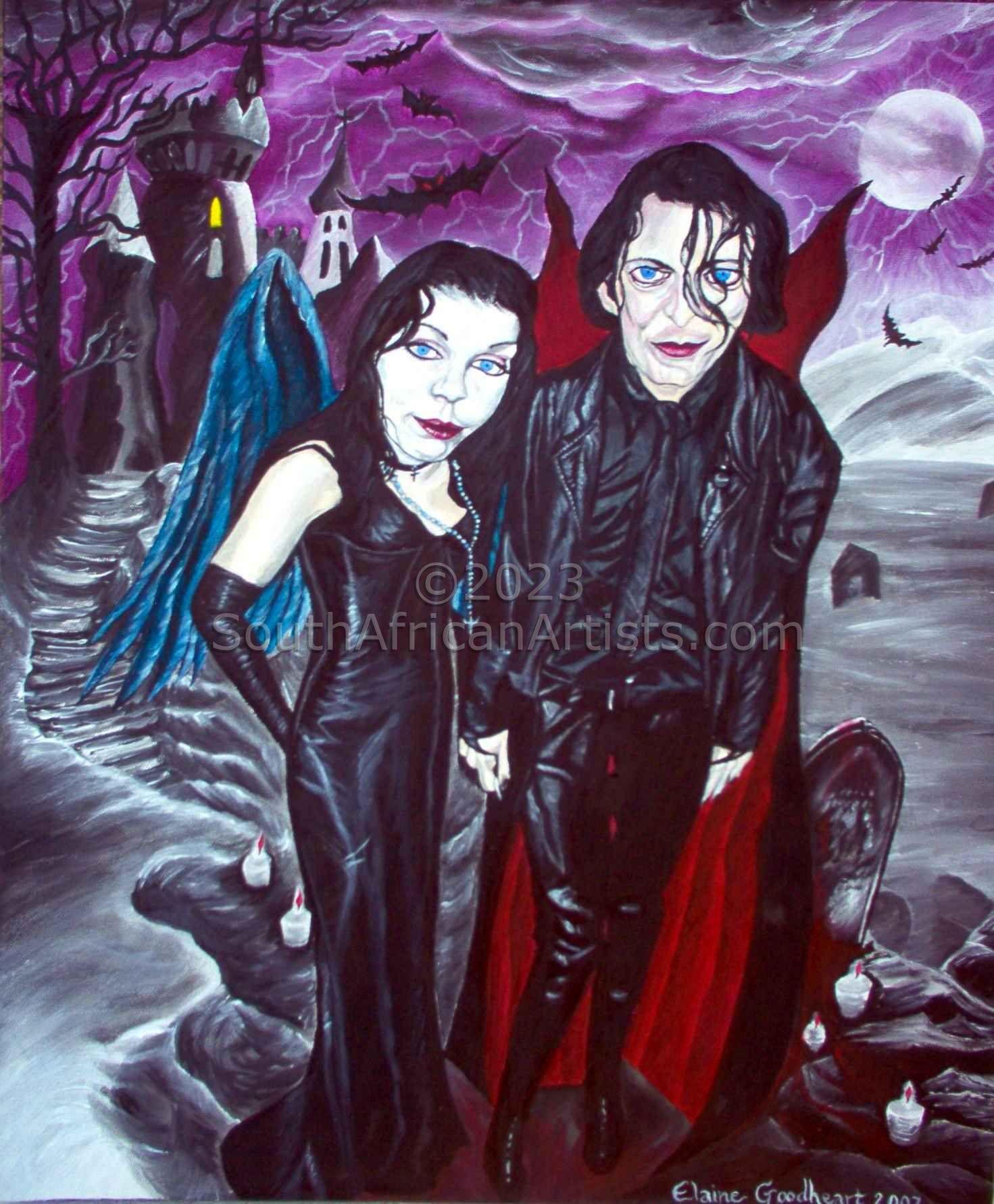 Dark Romantic Portrait 1