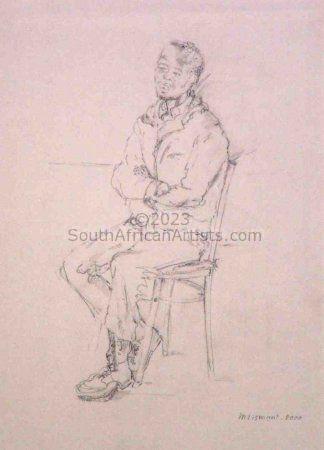 Xhosa Man Posing