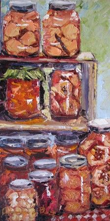 Greyton - Canned Fruit at Market