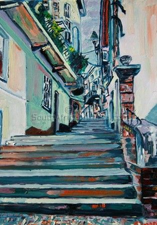 Moncalvo Stairs