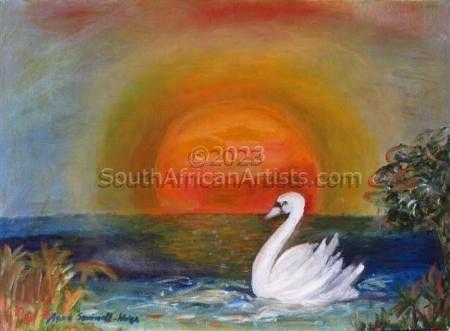 Sun and Swan