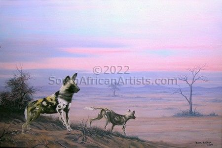 Wild Dogs at Dawn