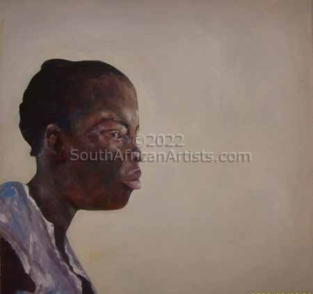 Portrait of African Girl 1