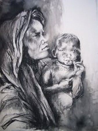 Lady With Baby