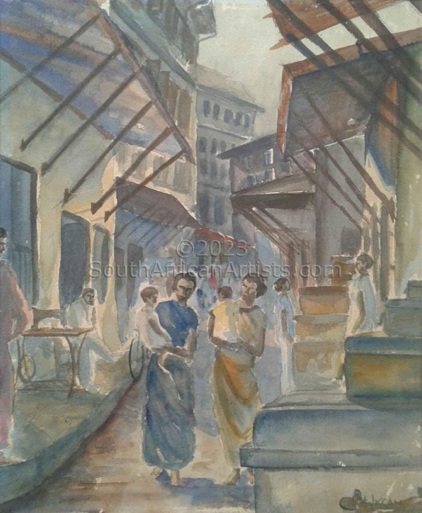 Zanzibar - busy street