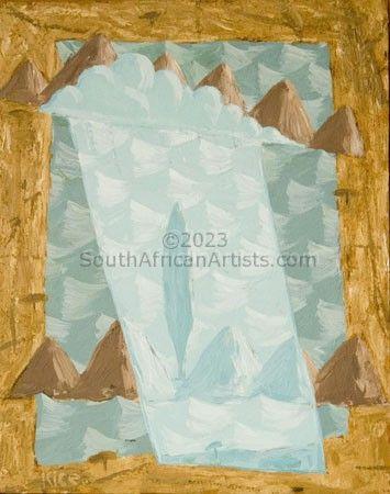 Cubist Lake 3