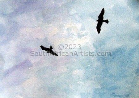 Pariah Kites Over Delhi
