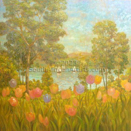 Tulips and Sailing Boats
