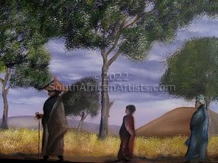 Sotho Family Walking By