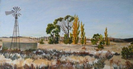 Karoo Winter - Springfontein