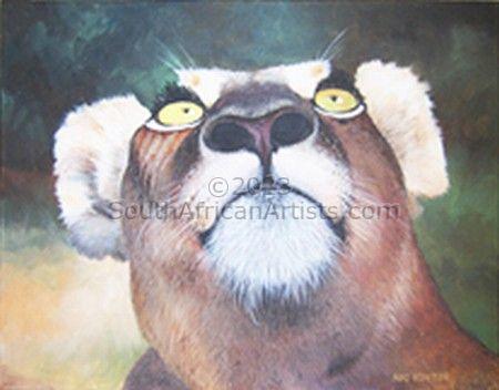 Lioness Disturbed