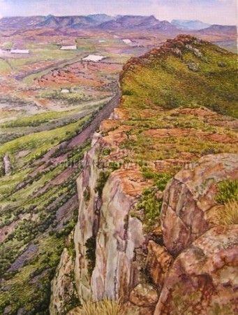 Viewed from the Kamdebo