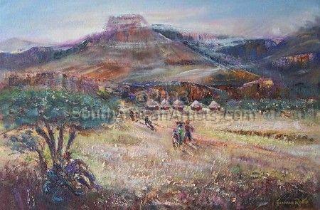 rural, Drakensberg 01