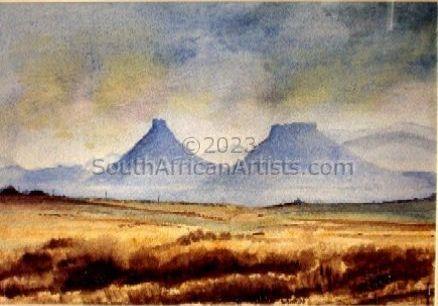 Karoo winter landscape