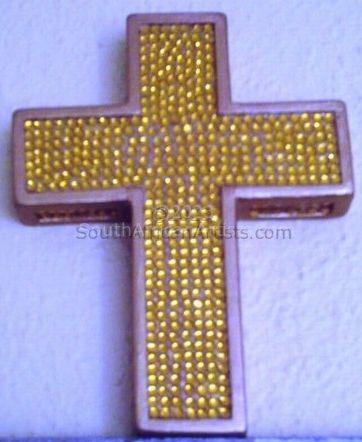 Bob Crucifix Gold