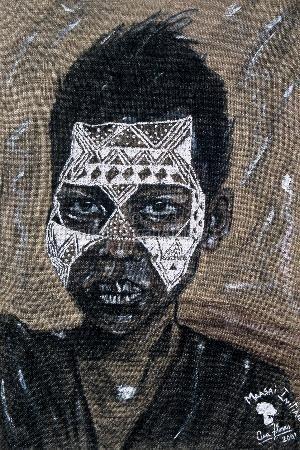 Maasai Initiate - Print